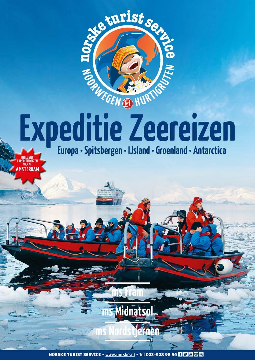 Hurtigruten Expeditie-Zeereizen 2016-2017