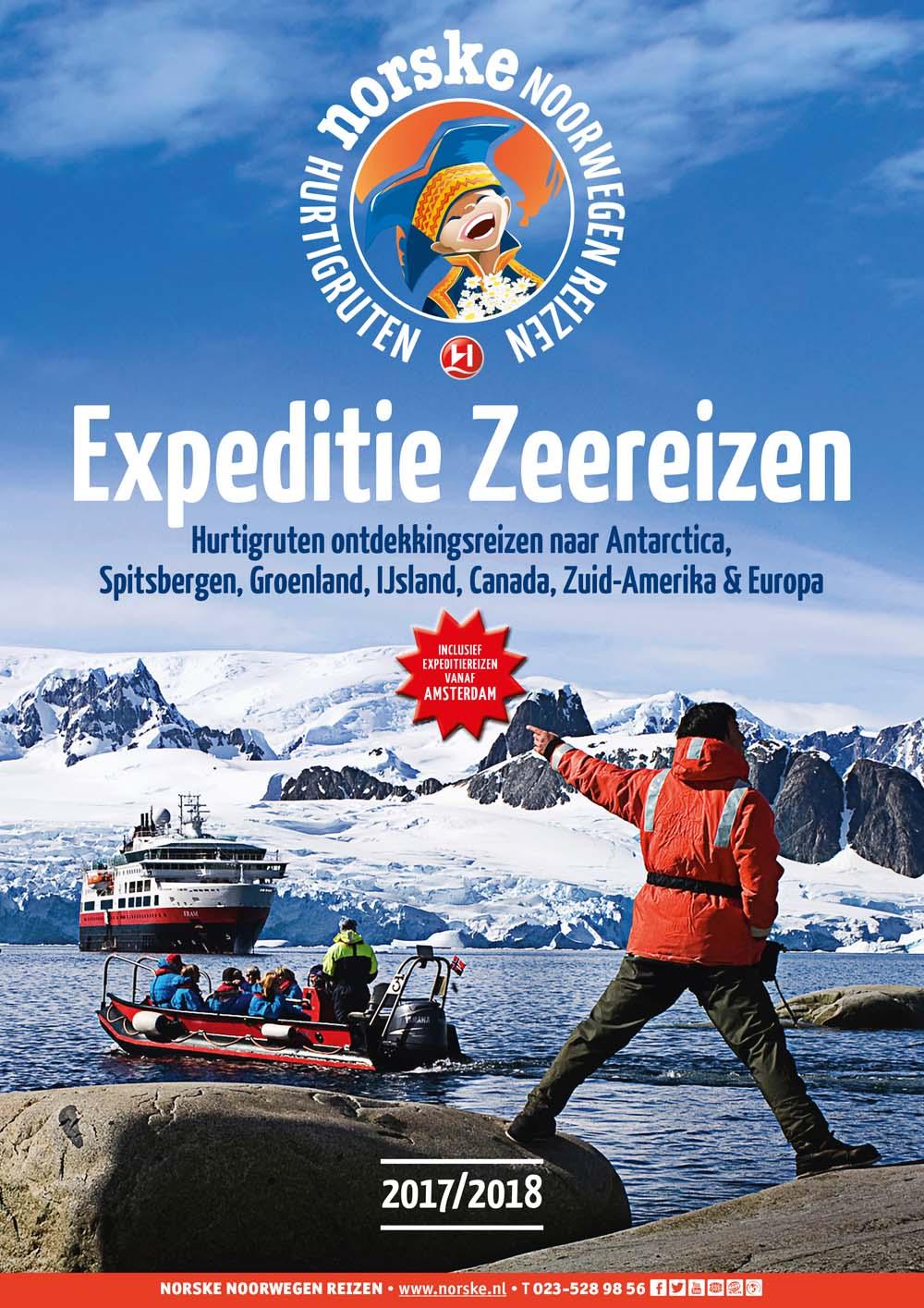 Hurtigruten Expeditie-Zeereizen 2017-2018