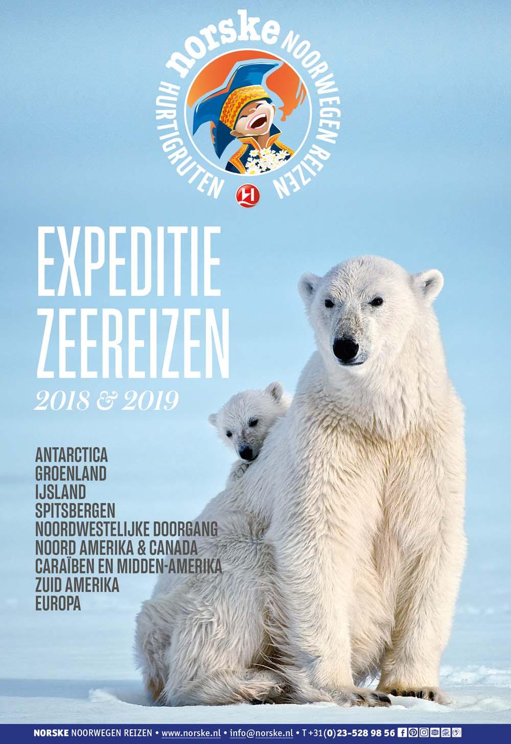 Hurtigruten Expeditie-Zeereizen 2018-2019