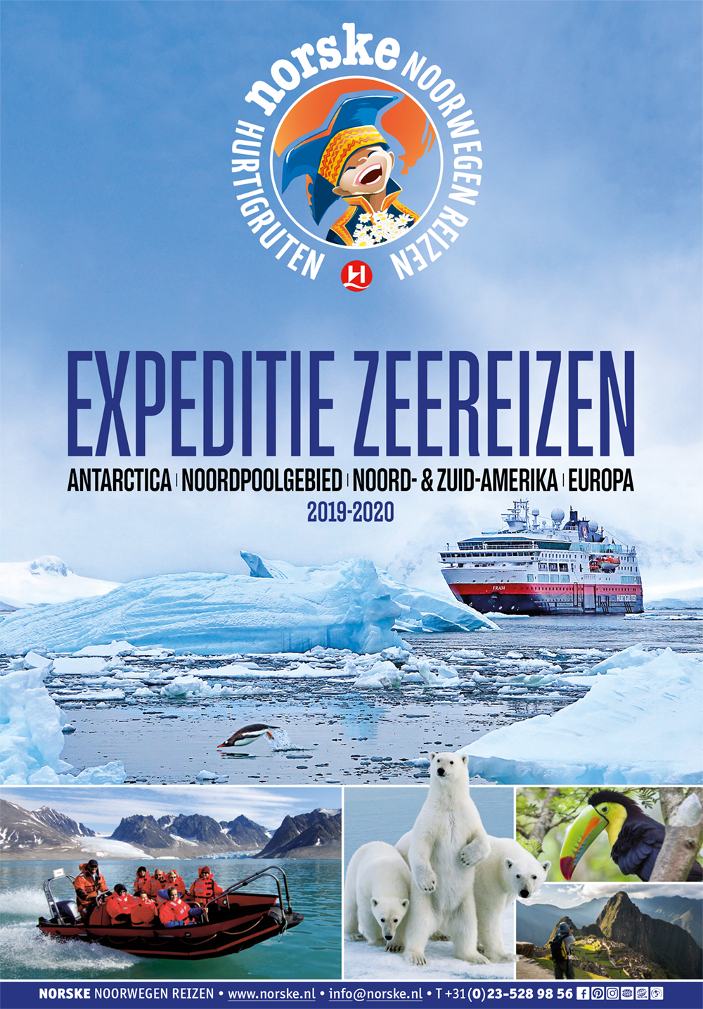 Hurtigruten Expeditie-Zeereizen 2019-2020