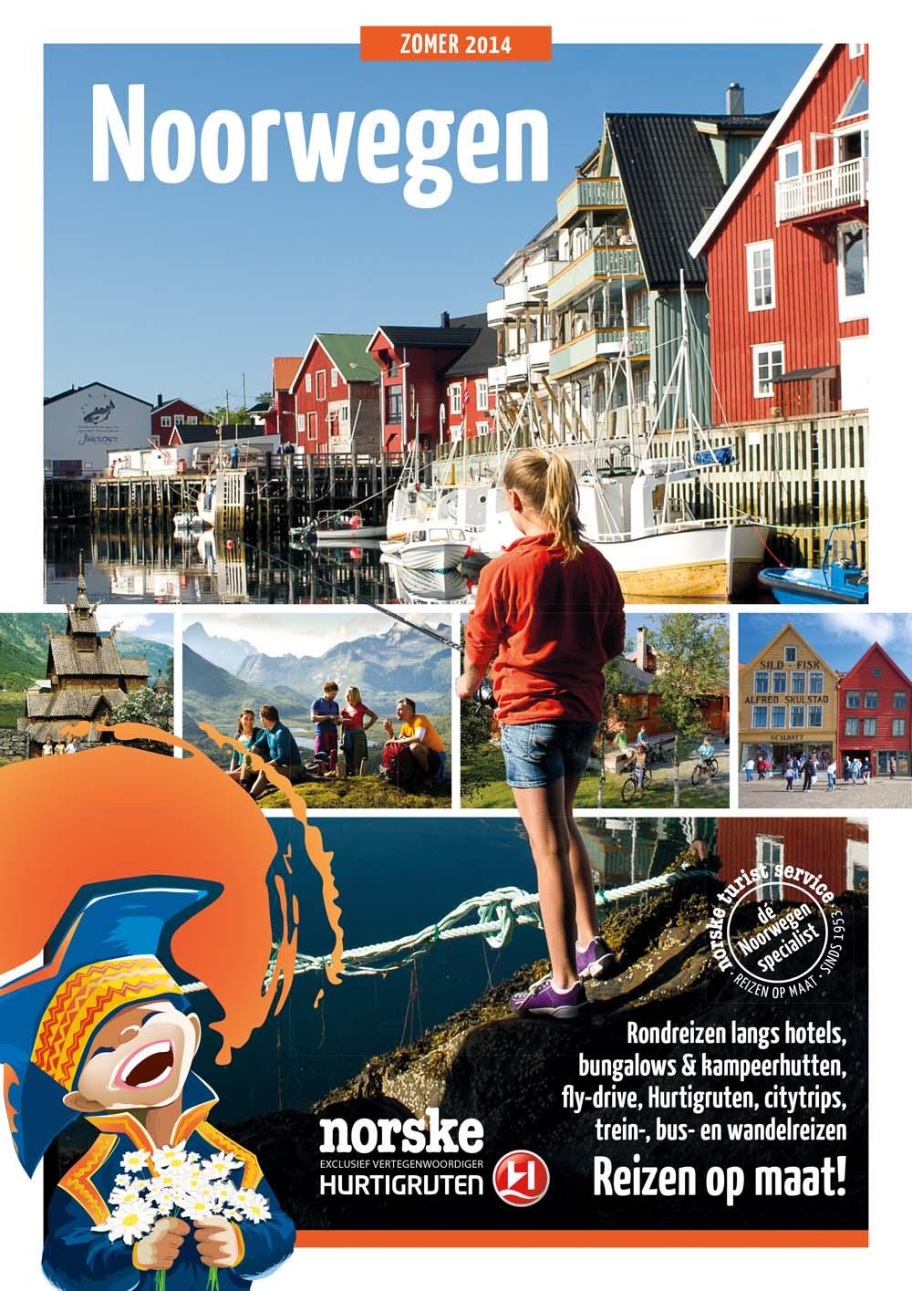 Zomer in Noorwegen 2014
