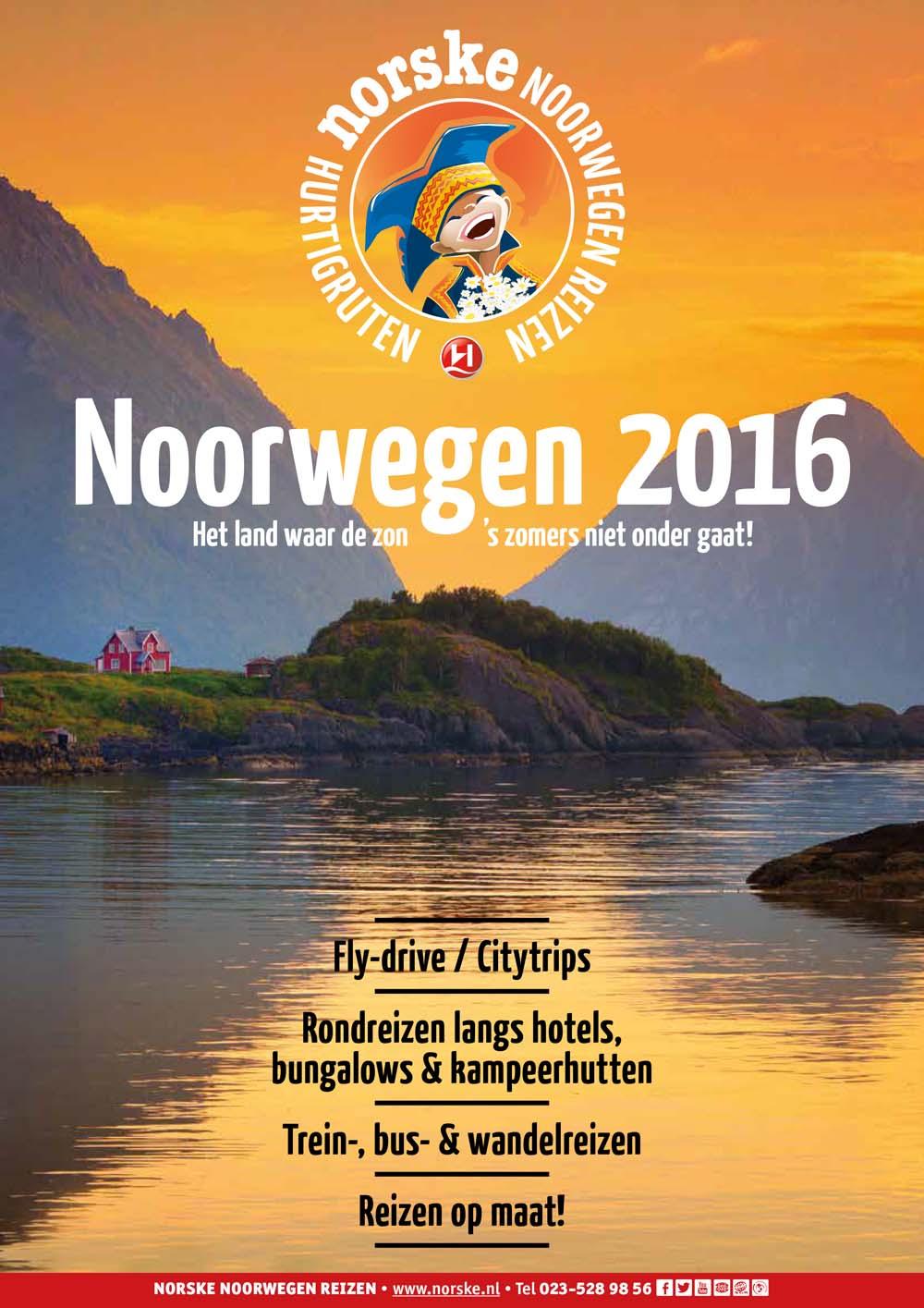 Zomer in Noorwegen 2016